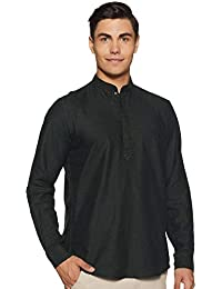 Indo Ink Men's Cotton Indo Western Kurta