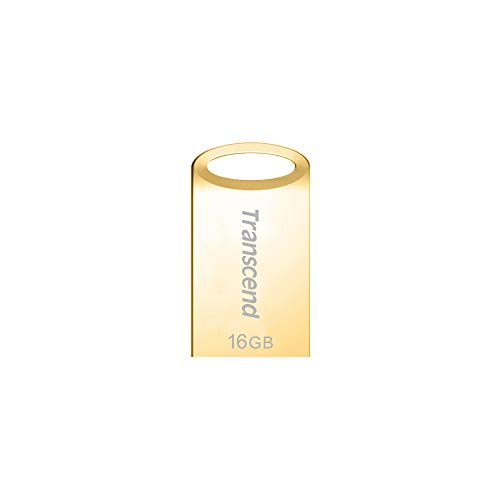 Transcend Jetflash 710 USB 3.0 16GB Pen Drive (Gold)