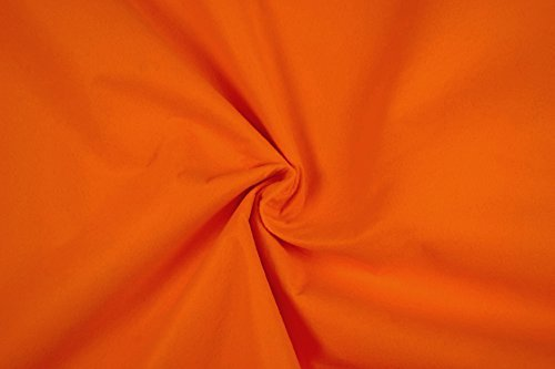 Fabrics-City FILZ STOFF 1MM-90CM DEKO BASTELN BEKLEIDUNG STOFFE, 4550 (Orange)