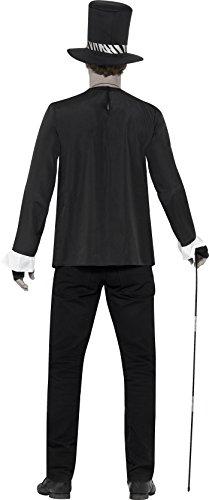 Imagen de smiffy 's–disfraz de hombre bruja disfraz de médico, chaqueta, camiseta de, sombrero, collar y guantes, leyendas de mal, halloween, tamaño l, 45569 alternativa