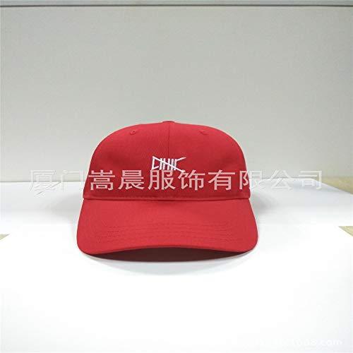 zhuzhuwen Hut Bestickt Baumwolle Baseballmütze Koreanische Version von Sonnenschirm Stickmütze 4 56-62cm