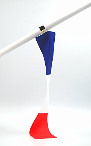 miniflag 5er-Set Frankreich Fan-Artikel in National-Farben | Kleine Mini-Fahne | Fan und Party-Fähnchen u.a. für Fußball Handball Beach-Volleyball Tennis Ski WM EM Olympia Sport-Events |