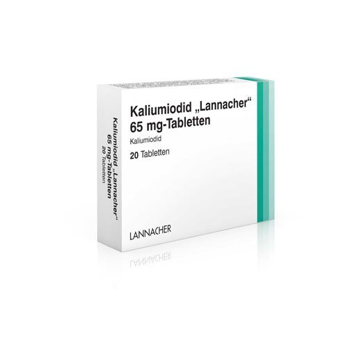 KALIUMIODID Lannacher 65 mg Tabletten 20 St