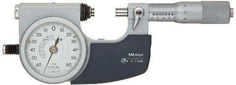'Mitutoyo mt510–121miyutoyo indique Mike 0–25mm 510–121