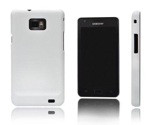 Xcessor Light Force Gummierter Kunststoff Schutzhülle für Samsung Galaxy S2i9100/S2PLUS i9105 Sg Shell Gel