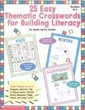 Easy Thematic Crosswords for Building Literacy par Mary Beth Spann