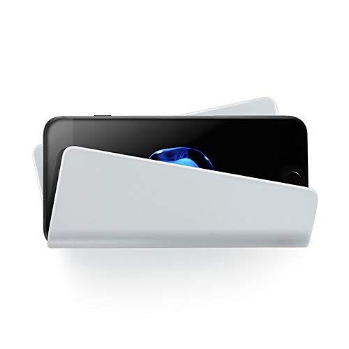 Fcostume Universal-Wand-Ladegerät Stand für Handy-Handy-Halterung Halter Base Support für iPhone für Samsung (weiß)