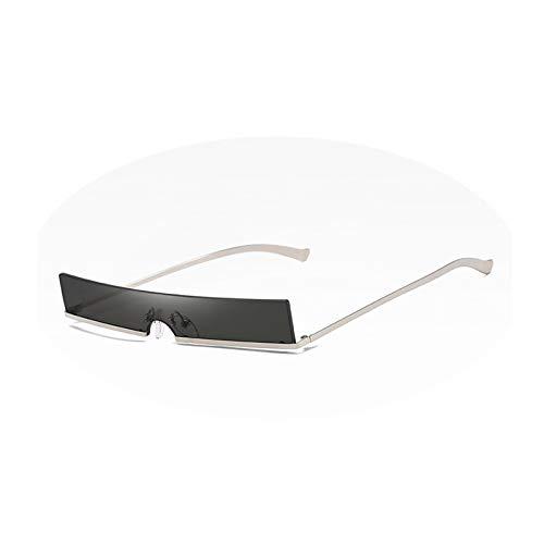AmDxD Damen Polarisierte Sonnenbrille | Sonnenbrille Vollrand UV400 Schutz Mode Brille | Für Autofahren, Wandern, Sport - Grau Silber