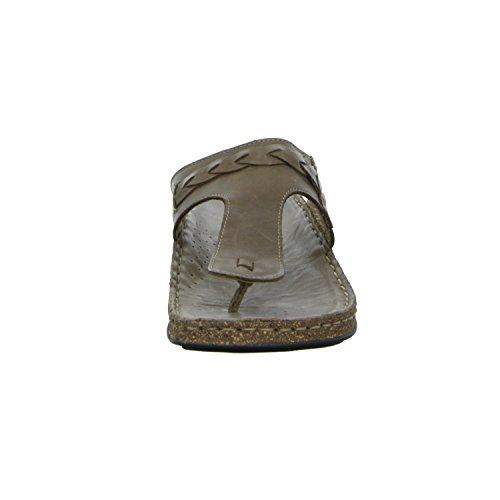 scarbella 386121490 Damen Pantolette bis 30mm Absatz Braun (Braun)