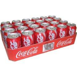 Coca Cola Lattina cl 33 x 24 lattine