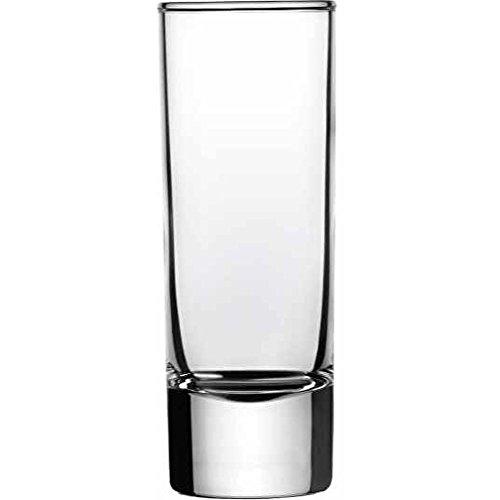 Arcoroc vaso de chupito Island 6cl, sin la marca de llenado, 12 Vaso