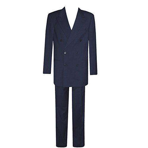 Boss, , Anzug Zweireiher, feine Gabardinequalität, nachtblau, 94 [13727]
