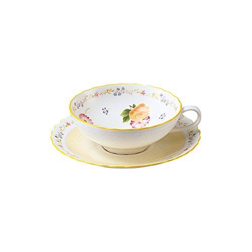 Bone china Genevieve Freres tea bowl dish (1 customer) T58043A/4620 (japan import) Noritake China