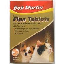 Bob Martin Flea Tabletten Katze & kleinen Hund 3s