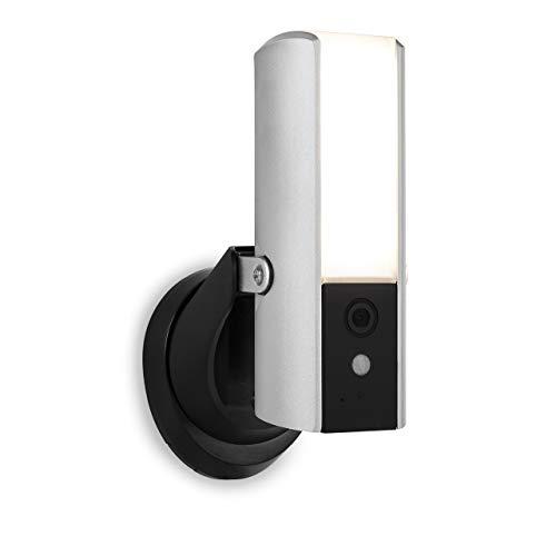 31yZU8OlX9L [Bon Plan Netatmo] Smartwares Guardian CIP-39901 - Caméra de surveillance connectée avec éclairage intégré, alarme et audio 2 Voies