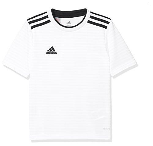 adidas Herren CONDIVO18 JSY T-Shirt, White/Black, 910A -