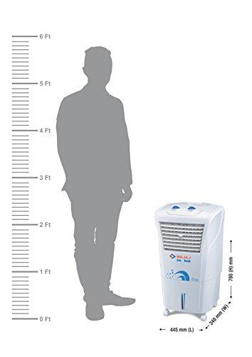 Bajaj Coolest Frio 23-Litre Air Cooler (White)