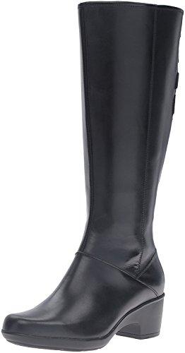 CLARKS Women's Malia Skylar Wide Shaft Riding Boot