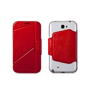 The Core Smart Case For Samsung Galaxy Note Ii - Red
