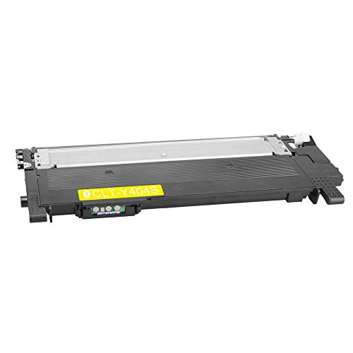Gelb-laser-drucker (DASKOO CLT-Y404S Toner kompatibel für Samsung Xpress SL-C430/XSS, SL-C430W/XSS, SL-C480/XSS, SL-C480W/XSS, SL-C480FW/XSS)