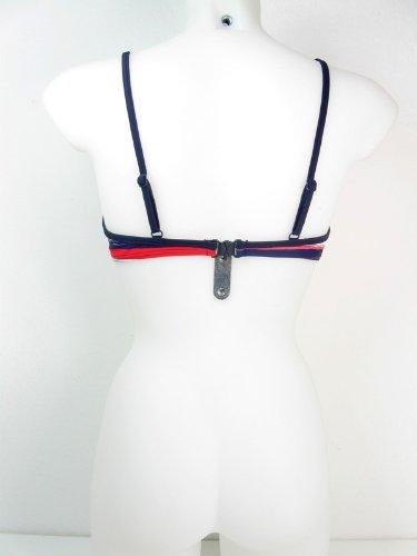 eleMar Damen Bikini-Top, Bügel, Cups, C-Cup, 36-46, NEU Blau