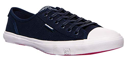 Superdry Damen Low PRO Sneaker, Blau (Navy 11s), 41 EU