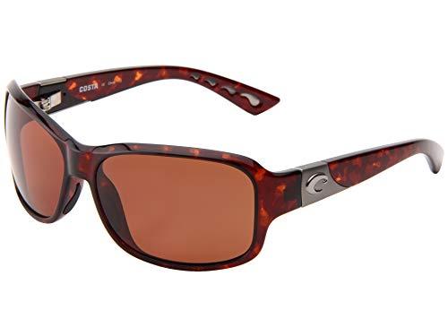 Costa Del Mar Herren Sonnenbrille Bronze Frame: Tortoise/Lens: Copper 580P