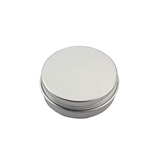 Dpolrs 10pcs Ronda Metal té Hoja Aluminio Caja Tornillo