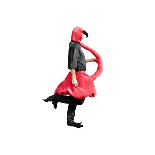 (Flamingo-Kostüm, Sy02 Gr. M-L, Flamingo-Faschingskostüme für Männer und Frauen, Flamingo-Faschingskostüm, für Fasching Karneval Fasnacht, Karnevals-Kostüme, Faschings-Kostüme, Geburtstags-Geschenk)