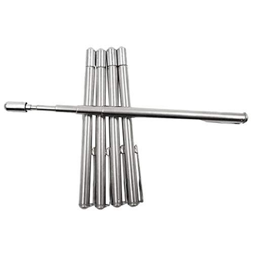 LOVIVER 5 x Teleskopzeigestab Kugelschreiber Zeigestab Zeigestock für Tasche - 6 Abschnitte
