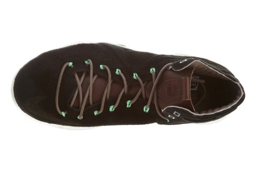 Limited Edition Lebron X Ext Qs Sport Style formateur Chaussures Black/Dark Field Brown-Tourmaline