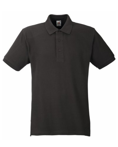 Fruit of the LoomHerren Poloshirt Dunkelgrau