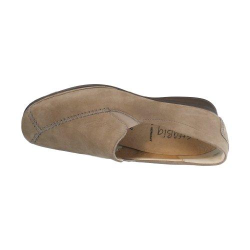 Semler 1635-040-027 - Mocassini da donna, modello Ria, colore: beige/sabbia Beige (beige)