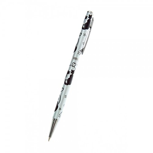 Celtic Ball Cats Moon Stars Pen - Made by Sea Gems 0033