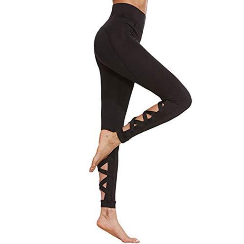 BYOGAZT @ Yoga Hosen Frauen Wrap Yoga Hosen Fitness Hosen Tanz Ballett Strap Enge Hosen Kalb Kreuz Sport Tragen Für Frauen Gymnastikhose -
