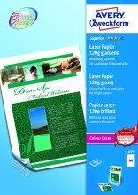 """Avery Zweckform© 1198 Superior Colour Laser Papier, DIN A4, beidseitig beschichtet - gl""""nzend, 120 g/mý, 200 Blatt"""