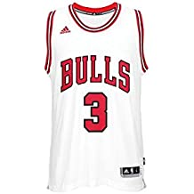 adidas Cc2543 Camiseta Chicago Bulls de Baloncesto, Hombre, 2XS
