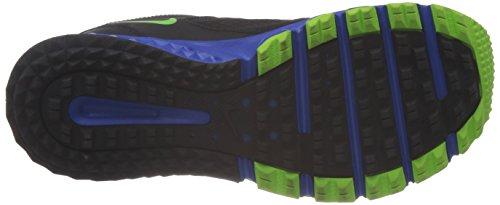 Nike 642833 007 Wild Trail Herren Sportschuhe - Running Mehrfarbig (BLACK/ELECTRIC GREEN-HYPR CBLT)