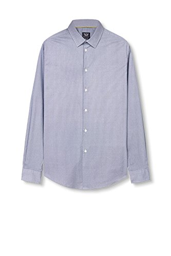 ESPRIT 037eo2f001, Camicia Uomo Blu (Light Blue)