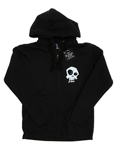 Disney Damen Nightmare Before Christmas Misfit Love Zip Up Hoodie Schwarz