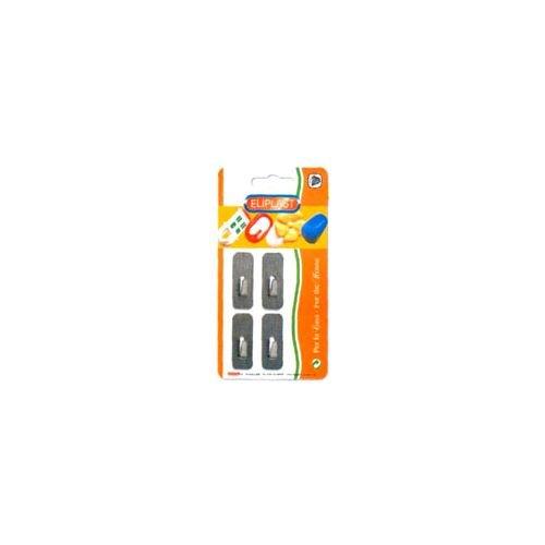 ELIPLAST GANCIO INOX RETTAN. SLIM Pz. 4 226/4 ELIPLAST