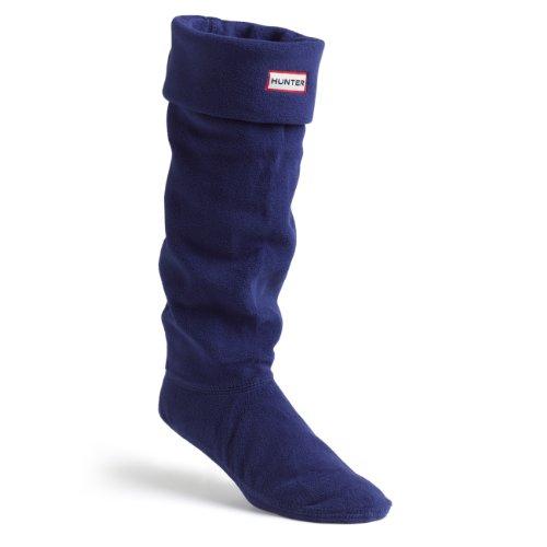 Hunter Boots Welly Socks Wellington Boot Socks - Navy - L