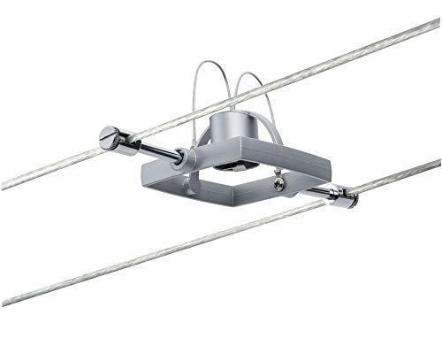 Paulmann 941.32 Seilsystem Mac2 Spot Single Erweiterung max.10W Chrom matt 94132 Seilleuchte Hängeleuchte