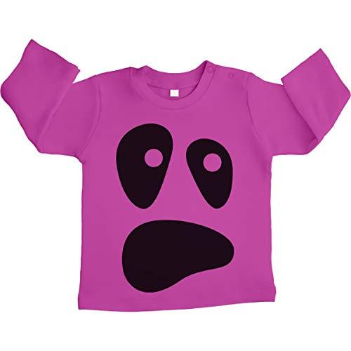 Baby Ghost Halloween Kostüm Outfit Säugling Unisex Baby Langarmshirt 3-6 Monate / 66 - Säuglings Ghost Kostüm