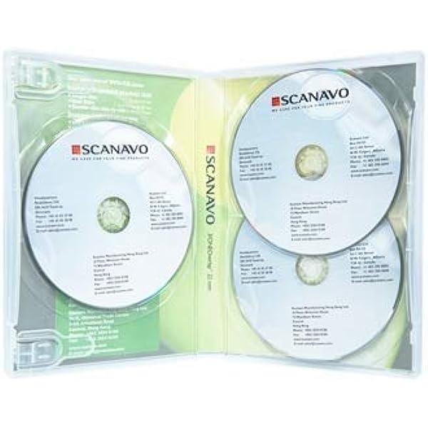 Dragon Trading Scanavo Cd Dvd Blu Ray Hülle 22 Mm Transparent 5 Stück