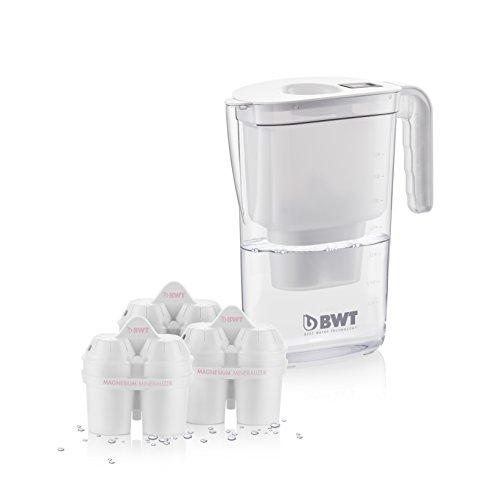 Bwt 815136 Caraffa Filtrante Vida 2.6 Litri 3 Filtri, Bianco,