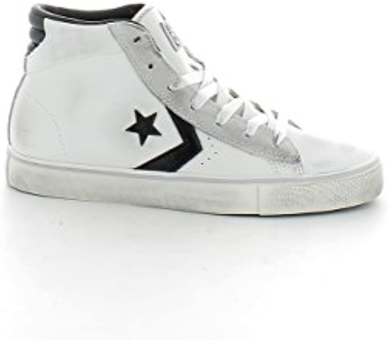 Converse Lifestyle Pro Leather Mid, Zapatillas Unisex Adulto