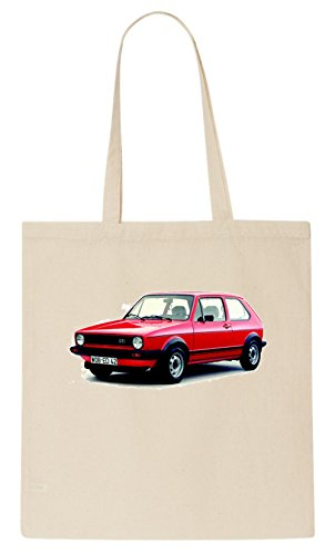 Golf Car Red MK1 t-shirt Tote Bag (Toten Golf-shirt)