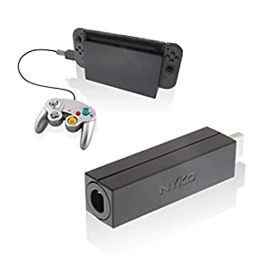Nyko Retro-Controller-Adapter – Single Port GameCube Controller Adapter für Nintendo Switch
