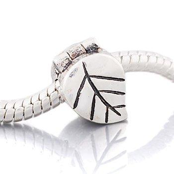 andante-stones-perle-bead-clip-stopper-argent-925-massif-feuille-lment-bille-pour-perles-european-be